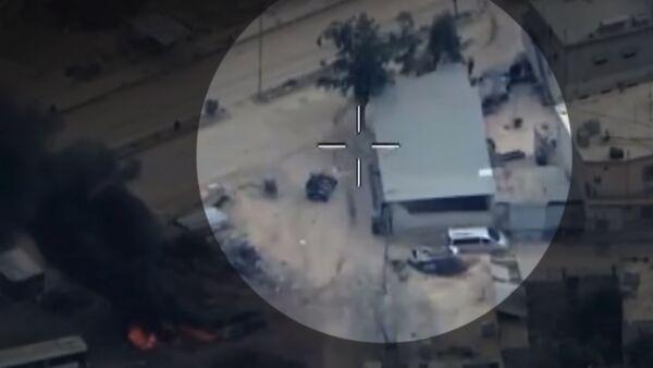 Terrorçuların qərargahı bombalandı - Sputnik Azərbaycan