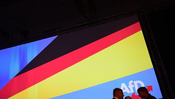 Открытие конгресса партии Альтернатива для Германии - Sputnik Азербайджан