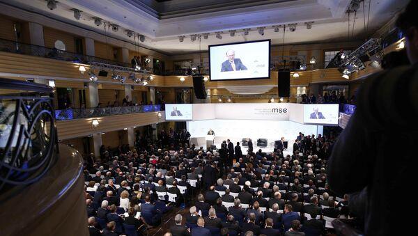 Международная конференция по безопасности, Мюнхен, 16 февраля 2018 года - Sputnik Азербайджан