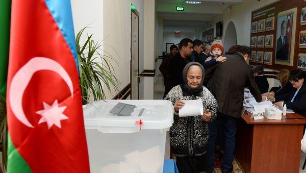 Парламентские выборы в Азербайджане - Sputnik Азербайджан
