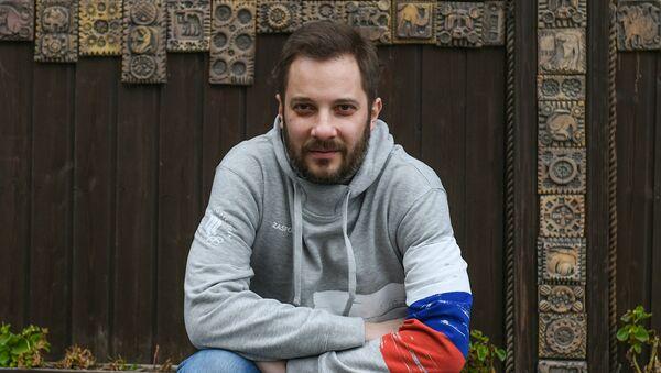 Российский писатель Александр Цыпкин - Sputnik Азербайджан