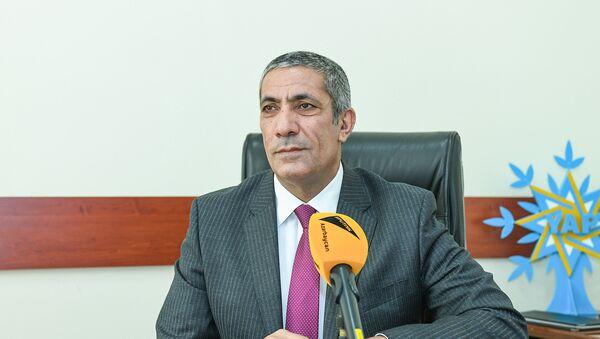 Заместитель исполнительного секретаря правящей партии Ени Азербайджан (ПЕА) Сиявуш Новрузов - Sputnik Азербайджан