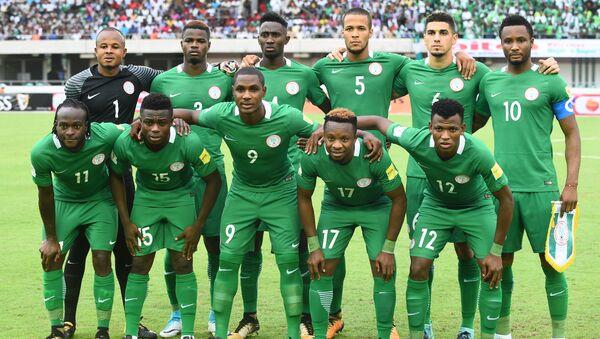 Сборная Нигерии по футболу, архивное фото - Sputnik Азербайджан