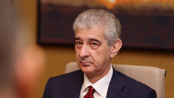 Заместитель премьер-министра Али Ахмедов - Sputnik Азербайджан