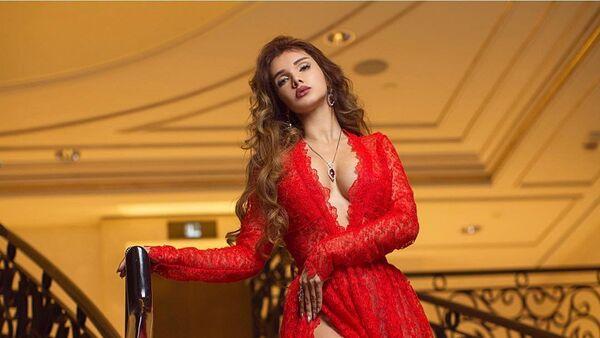 Победительница национального конкурса красоты Мисс Азербайджан-2016 Оксана Бархатова - Sputnik Азербайджан