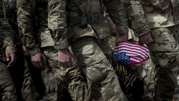 Солдаты армии США, фото из архива - Sputnik Азербайджан
