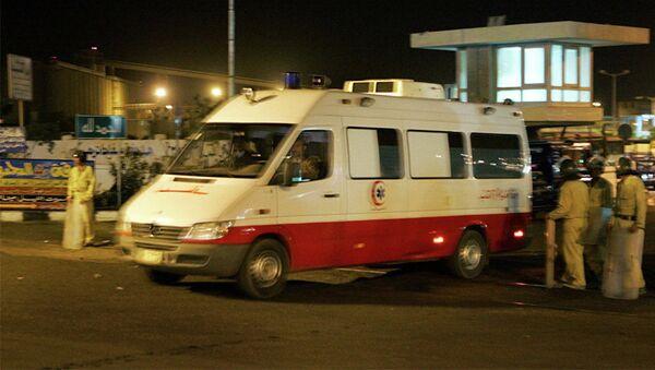 Карета скорой помощи в Египте, фото из архива - Sputnik Азербайджан