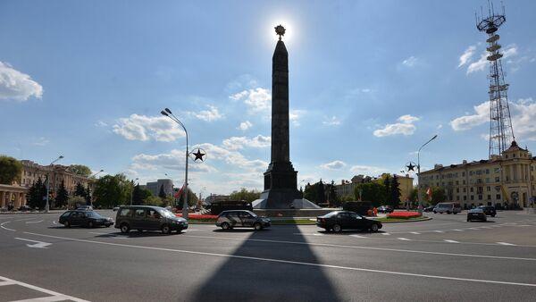 Площадь Победы в Минске, фото из архива - Sputnik Азербайджан