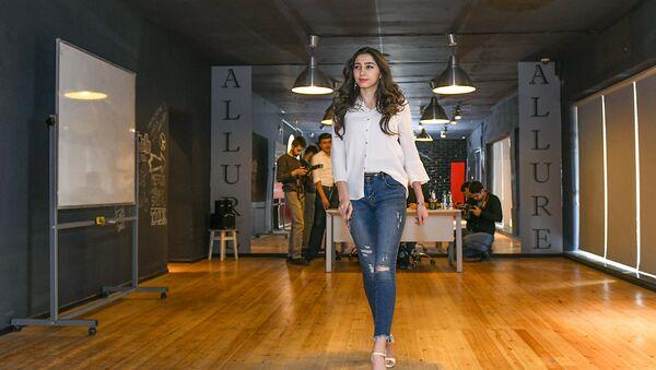 Miss & Mister Grand Azerbaijan gözəllik müsabiqəsinin ikinci seçim turu - Sputnik Azərbaycan