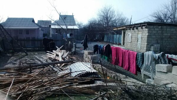 Пожар в частном жилом доме в селе Ляк Бардинского района - Sputnik Азербайджан