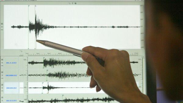 Сейсмограф. Землетрясение - Sputnik Азербайджан