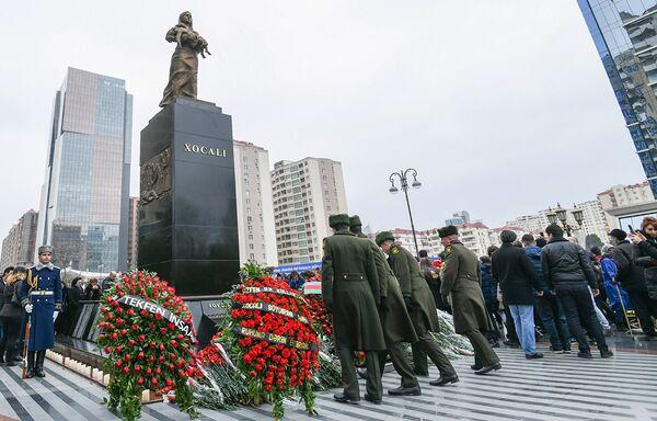 26 лет со дня Ходжалинской трагедии - Sputnik Азербайджан