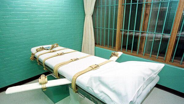 Тюремная камера в США для проведения смертельных инъекций, фото из архива - Sputnik Азербайджан