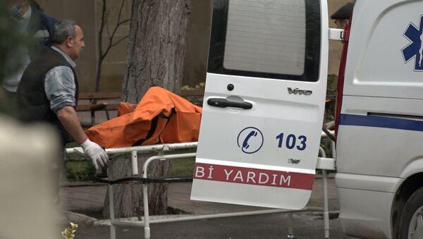 Yanmış cəsədlər Yasamal morquna gətirilib - eksklüziv kadrlar - Sputnik Azərbaycan