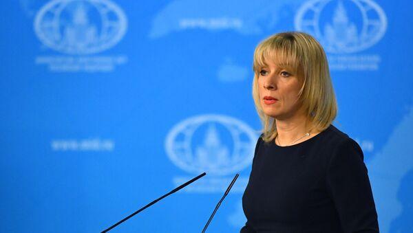 Брифинг официального представителя МИД РФ Марии Захаровой - Sputnik Азербайджан