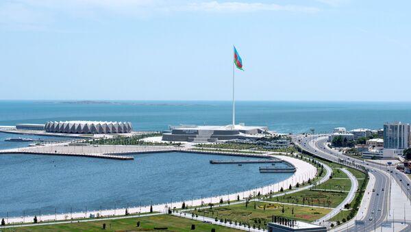 Площадь флага в Баку, фото из архива - Sputnik Азербайджан