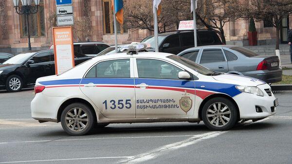Машина ГАИ, Армения - Sputnik Азербайджан