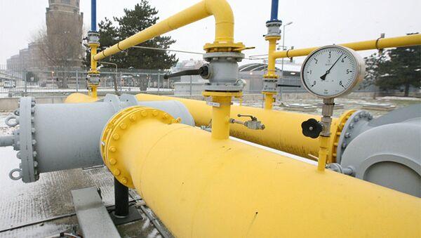 Газопровод в Австрии, фото из архива - Sputnik Азербайджан