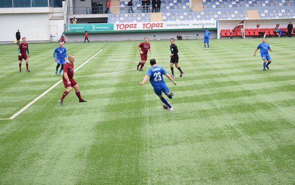 Международный футбольный турнир между парламентариями Азербайджана и Латвии - Sputnik Азербайджан