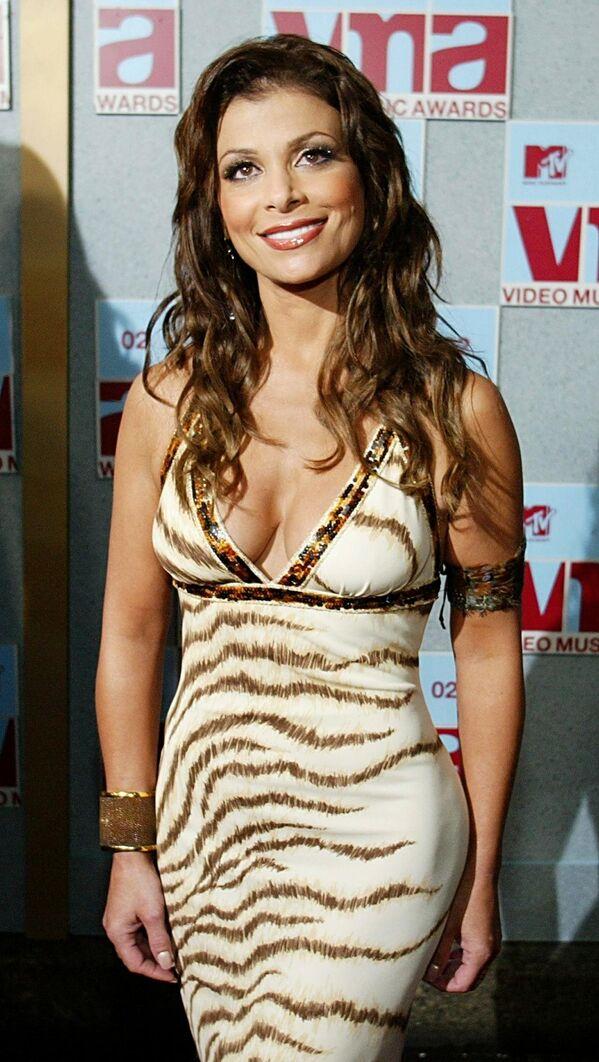 Американская певица Паула Абдул на церемонии награждения MTV Video Music Awards - Sputnik Азербайджан