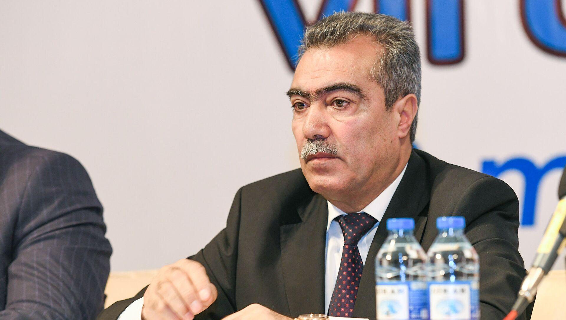 VII съезд азербайджанских журналистов - Sputnik Азербайджан, 1920, 05.08.2021