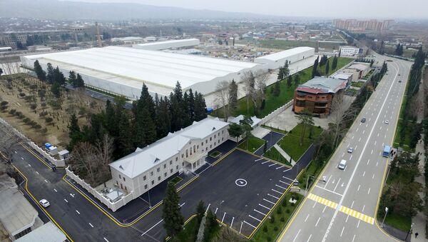Промышленный объект на территории Сумгайытского технологического парка - Sputnik Азербайджан