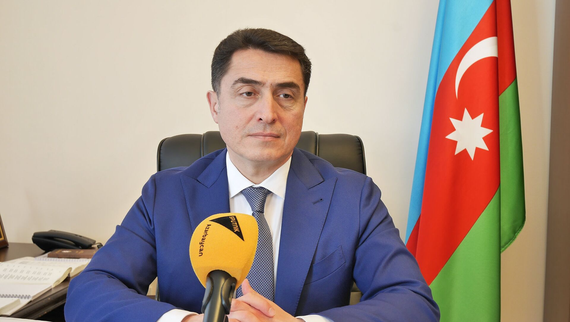 Председатель комитета Милли Меджлиса по правовой политике и государственному строительству Али Гусейнли - Sputnik Азербайджан, 1920, 05.03.2021