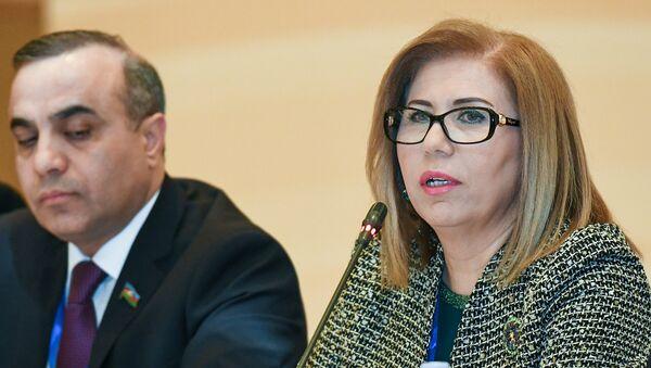 Руководитель азербайджанской делегации в ПА ОБСЕ Бахар Мурадова - Sputnik Азербайджан