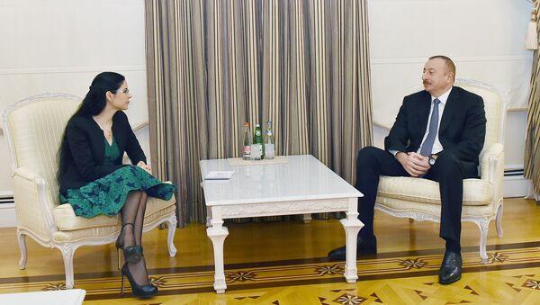 Президент Ильхам Алиев принял заместителя премьер-министра Румынии - Sputnik Азербайджан