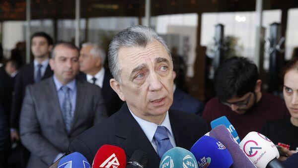 Səbayıl rayon icra hakimiyyətinin başçısı Eldar Əzizov - Sputnik Azərbaycan