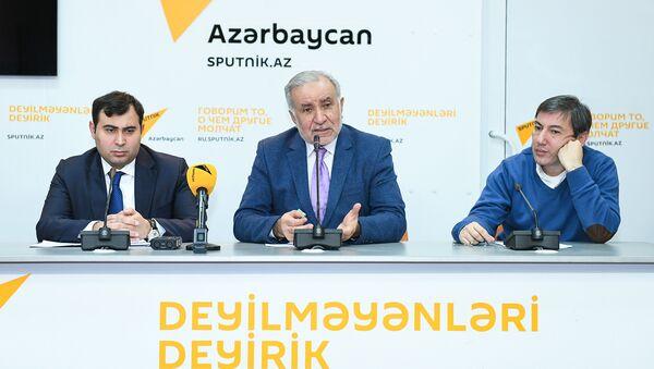 Пресс-конференция на тему Насколько и как защищен азербайджанский потребитель - Sputnik Азербайджан