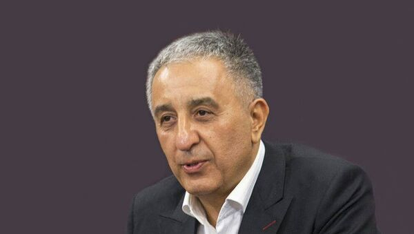 Азербайджанский журналист Ибрагим Набиоглу - Sputnik Азербайджан