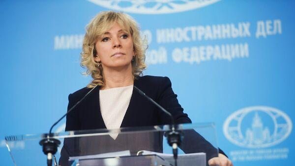 Официальный представитель министерства иностранных дел России Мария Захарова - Sputnik Азербайджан