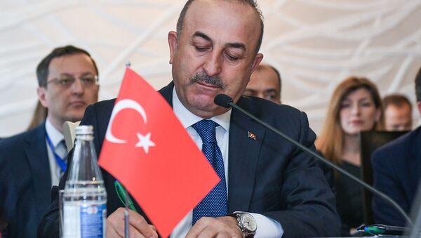 Глава МИД Турции Мевлют Чавушоглу - Sputnik Azərbaycan