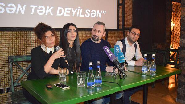 Танцовщица Рена Агамурадова презентовала социальный проект - Sputnik Азербайджан