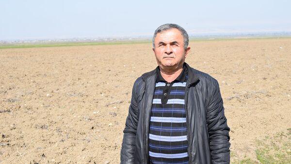 Goranboy rayonu Borsunlu kənd sakini Ələddin Abbasov - Sputnik Azərbaycan