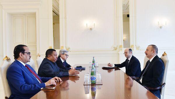 Президент Ильхам Алиев встретился с генеральным секретарем ОПЕК - Sputnik Азербайджан