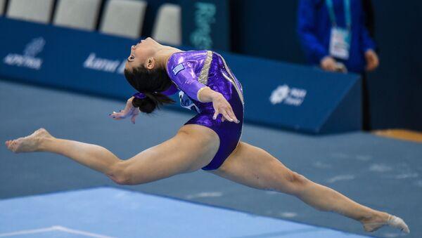 Финальный день Кубка мира FIG по спортивной гимнастике в Баку - Sputnik Азербайджан