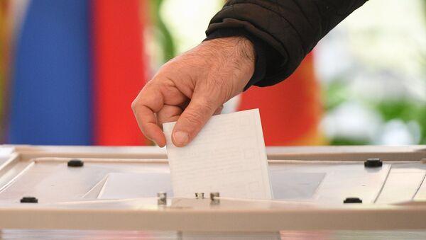 Выборы президента РФ в регионах России - Sputnik Азербайджан