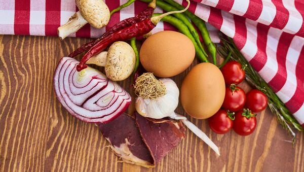 Мясо, яйца и овощи - Sputnik Азербайджан