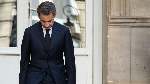 Экс-президент Франции Николя Саркози, 25 марта 2013 года - Sputnik Азербайджан