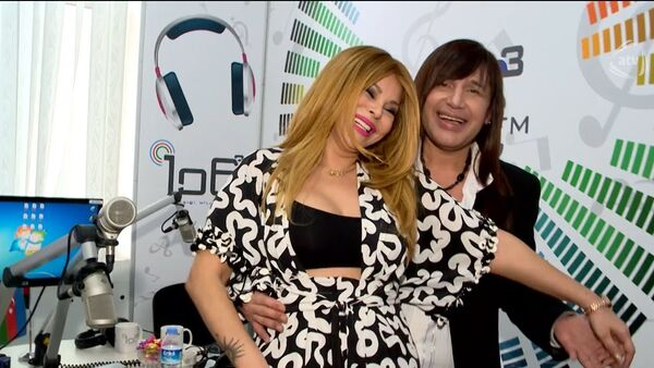 Айгюн Кязымова и Самир Багиров, фото из архива - Sputnik Азербайджан