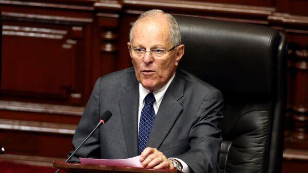 Президент Перу Педро Кучински - Sputnik Азербайджан