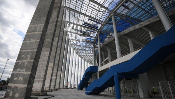 Строительство футбольного стадиона Нижний Новгород - Sputnik Азербайджан