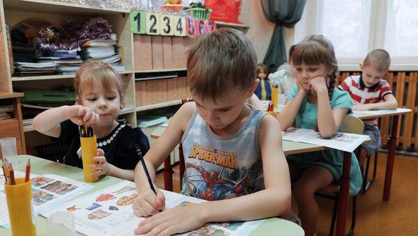 Дошкольное образование - Sputnik Азербайджан