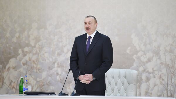 İlham Əliyevin sədrliyi ilə pambıqçılığın inkişafına dair respublika müşavirəsi keçirilib - Sputnik Azərbaycan