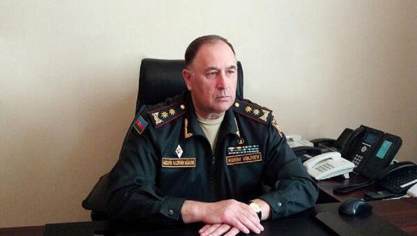Заместитель министра обороны Азербайджана генерал-лейтенант Керим Велиев - Sputnik Азербайджан
