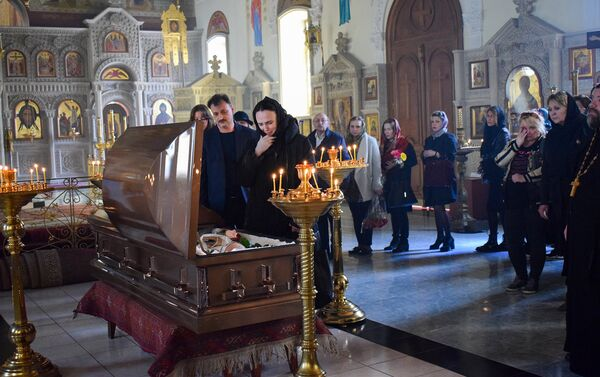 Церемония прощания с народным артистом Азербайджана Юрием Балиевым - Sputnik Азербайджан