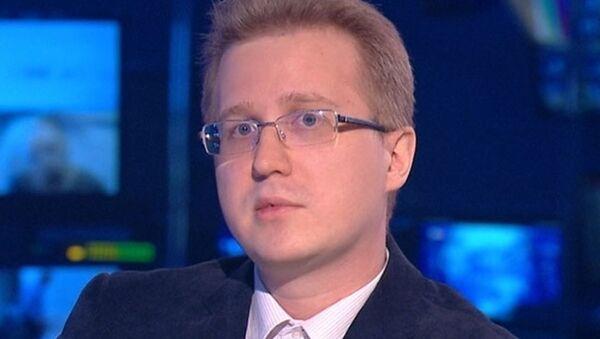 Ведущий эксперт Фонда Национальной энергетической безопасности Станислав Митрахович - Sputnik Азербайджан