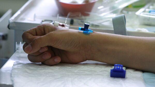 Пациент в больнице - Sputnik Азербайджан